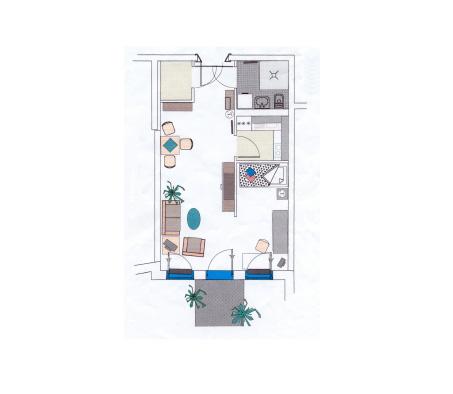 Alte Glaserei Plan Gartenwohnung