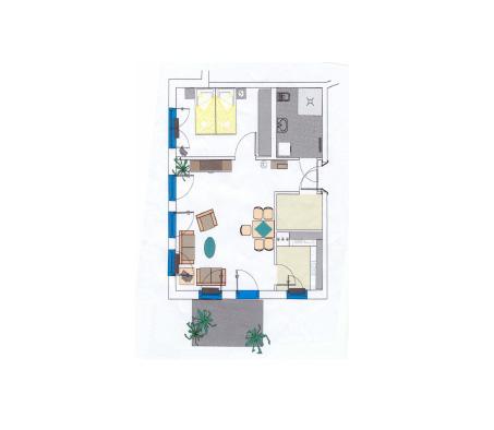 Alte Glaserei Plan Penthousewohnung